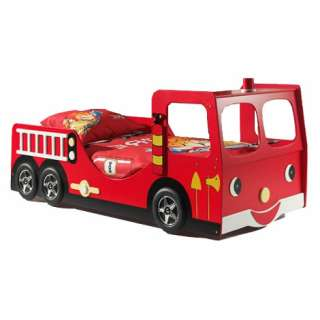 This fire truck bed frame is the perfect addition to any little ones