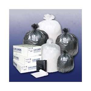 Inteplast Group IBS S434814N High Density Commercial Can Liners 43x48