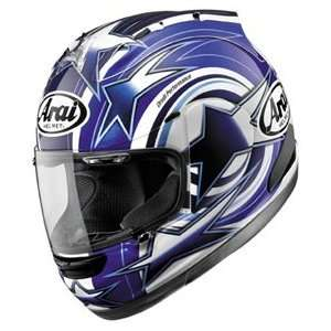 Arai Corsair V Edwards Blue Full Face Motorcycle Riding Race Helmet
