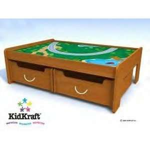 Kidkraft Train Table Plus Trundles and Train Set: Toys