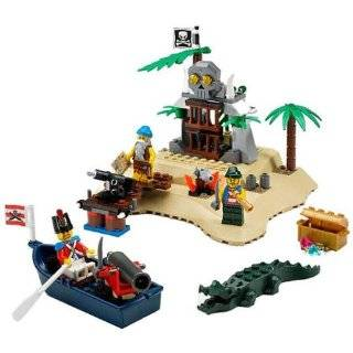 Lego Pirates Loot Island 6241: Toys & Games