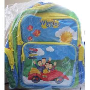 The Wiggles   13 Big Red Car Themed Book Bag Toys & Games