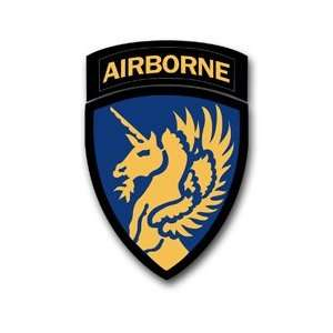 US Army 13th Airborne Division World War 2 Patch Decal Sticker 3.8 6