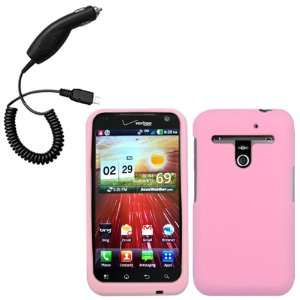 Cbus Wireless Light Pink Silicone Skin / Case / Cover & Car Charger