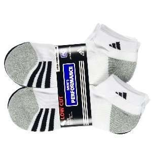Adidas Mens Sport Low Cut Performance Sock (Pack of 6