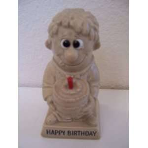 Vintage Happy Birthday Figurine (1970)