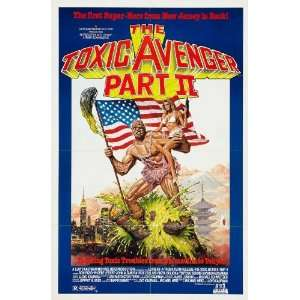 The Toxic Avenger Movie Poster (11 x 17 Inches   28cm x 44cm) (1986