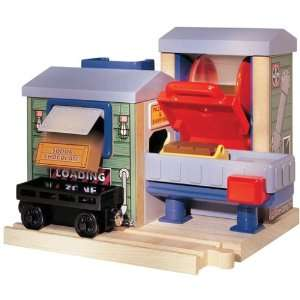 Friends Wooden Railway   Mr. Jollys Chocolate Factory: Toys & Games