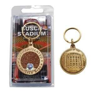 Busch Stadium Bronze Infield Dirt Keychain: Sports