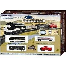scale starter set! Includes an oval E Z Track. Bachmann Trains