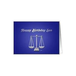 Happy Birthday Son Lawyer Card: Toys & Games