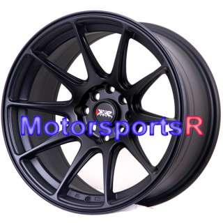 16 16x8 XXR 527 Black Concave Rims 89 Nissan 240sx S13