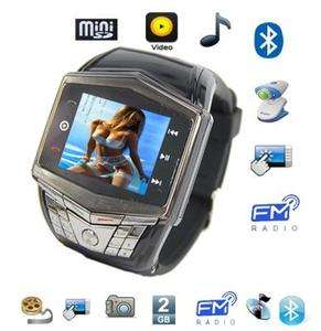 Unlocked Watch Cell Phone Mobile Keypad/Touch /4 Camera DWN GD910