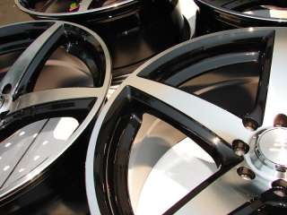 Black Wheels Integra Ford Focus ZX2 VX3 SVT Cougar 4 Lug Rims