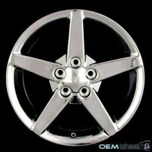 17 CHEVY CORVETTE C4 C5 C6 ZR1 Z06 CHROME WHEELS RIMS