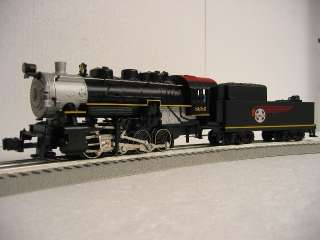 LIONEL SANTA FE STEAM ENGINE 0 8 0 train locomotive loco tender 30173