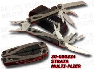 Gerber Strata Multi Plier Tool w/ Sheath 30 000334 NEW