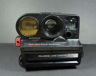 Vintage Polaroid SX 70 Time Zero Pronto Sonar Auto Focus Land Camera