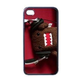Domo Kun Cute Apple iPhone 4 Hard Plastic Case Cover