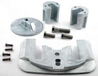 Zinc Anode Kit Bravo 2 and 3 Mercruiser Outdrive