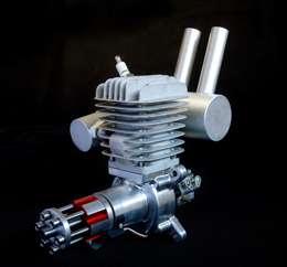 Band New GP50R RC Gasoline Engine Motors & Muffler for RC Airplane