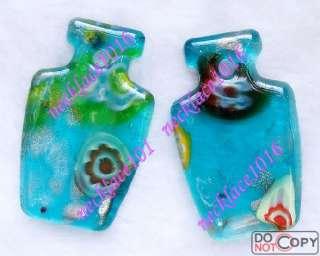 18pcs Lovely Murano Lampwork Glass pendant Free post