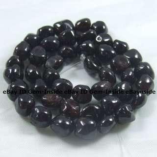 8X11mm freeform red Garnet gemstone beads strand 16