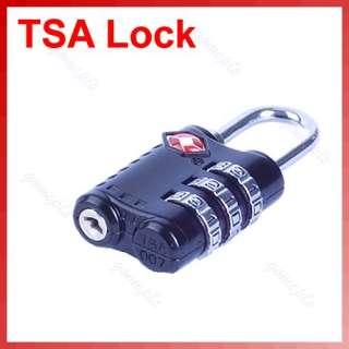 TSA 301 Combination Travel Suitcase Luggage Padlock Lock