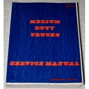 1984 Chevrolet Medium Duty Truck Service Manual Automotive