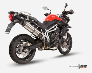 EXHAUST MIVV Suono Triumph TIGER 800 2011 TIGER800 NEW MODEL