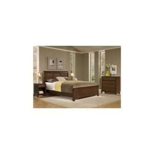 Home Styles 5540 5018 Paris Queen Bed Night Stand Chest
