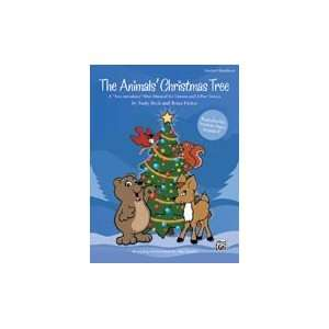 Alfred 00 28595 The Animals Christmas Tree   Music Book