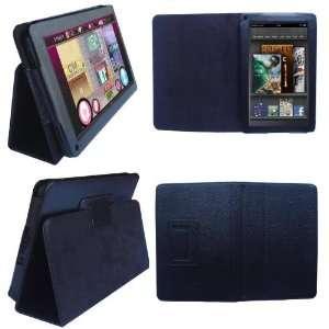 HappyZone   (Black) Portfolio Leather Case Cover with
