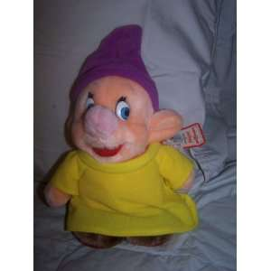 Disney Theme Park Only Dopey Dwarf Plush From Snow White