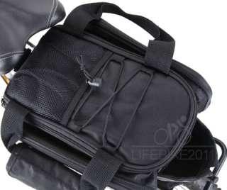 Bike Bag Bicycle Rear Seat Pannier Cycling Frame Pack Bag Shoulder Bag