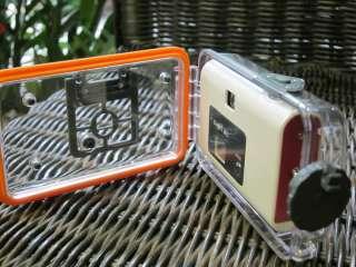 Underwater digital camera, 6m waterproof, white, 0.3MP VGA unreal