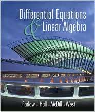 Differential Equations and Linear Algebra, (0130862509), Jerry Farlow
