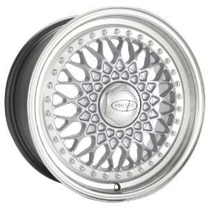 17x8 Privat Remember (Silver w/ Machined Lip) Wheels/Rims