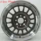 15 ROTA TRACK R WHEEL/TIRE 4X100 CIVIC MIATA MR2 XA CRX