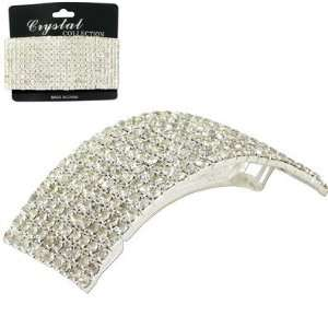 Fashion Rhinestone Hair Barrette 10 LINES Beauty