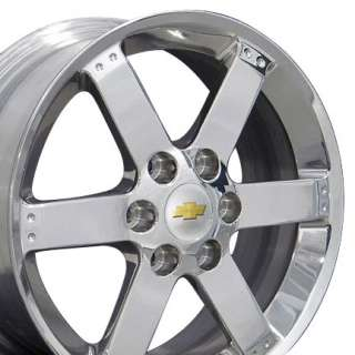 17 Rims Chevy Trailblazer 5312 Wheels Polished 17x7