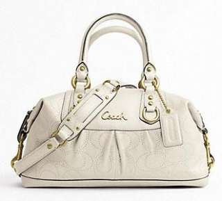 COACH Ashley Perforated Leather Satchel F17130 *New Authentic* MFSRP $
