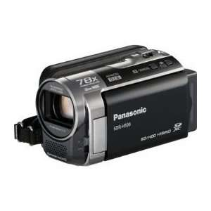 Panasonic SDR H100 Hard Drive Camcorder (Black) Camera