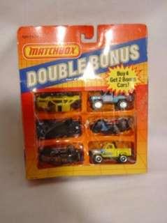 MATCHBOX Double Bonus Diecast 6 Cars Ford Truck 1987 164 NIB