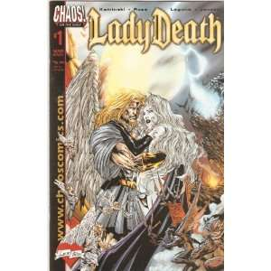 Lady Death: Love Bites #1 March 2001: Kaminski, Ross: Books