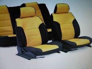 2010 2011 Chevy Camaro Custom Seat Covers w/logo option
