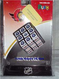 Ottawa Senators Rubiks Cube NHL Game Toy Collectibles Merchandise