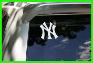 NEW YORK YANKEES LOGO CAR TRUCK WINDOW DECAL STICKER