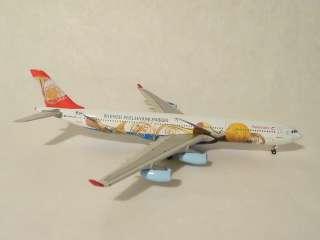 400 Phoenix Austrian Airlines A340 313X OE LAL. Wiener
