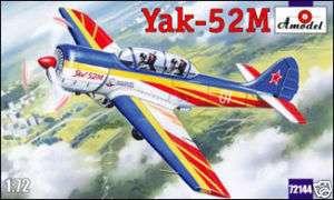 Amodel 72144 Yak 52M two seat sporting aircraft 1/72